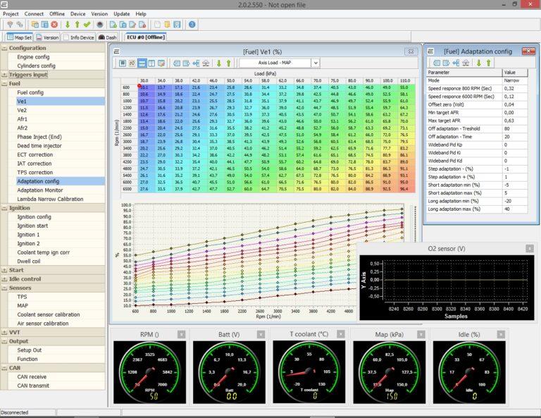 ECar Manager - программа для online настройки оборудования ECar lab