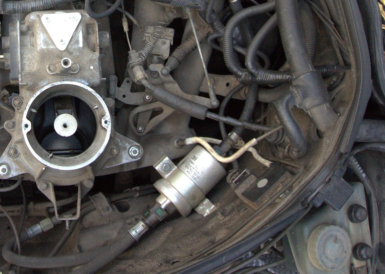 Установка ДАД ECar lab на Mercedes M102 M103